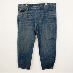 Levi's Relaxed Fit Tapered Denim Jeans Size 48X30